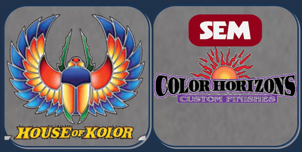 Custom Paints from House of Kolor & SEM Color Horizons