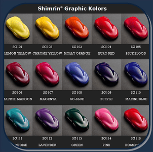 HOUSE OF KOLOR SHIMRIN GRAPHIC KOLORS (SG series)