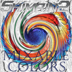 Shimirin 2 Mixable Formula Kolors (Kreate Your Own Custom Colors)