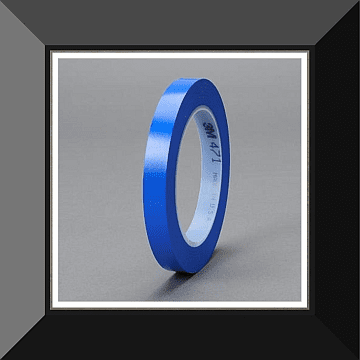 MMM-06409 3M BLUE VINYL FINE LINE TAPE 3/4 IN