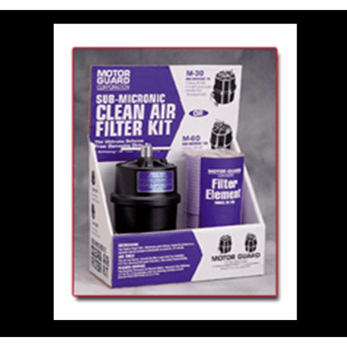 """MTG-M-45-KIT MOTOR GUARD 1/4"""" INLET TIOLET PAPER STYLE FILTER W/ TWO REPLACEMENT FILTERS"""