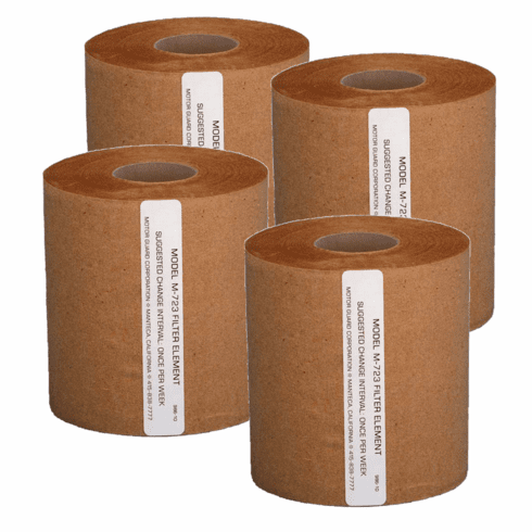 MTG-M-723 MOTOR GUARD REPLACEMENT FILTERS FOR M-30 & M-60 UNITS