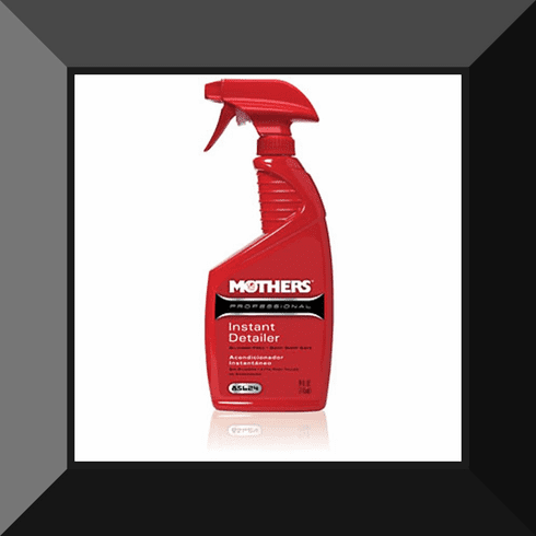MTH-85624 MOTHER'S PROFESSIONAL SILICONE FREE INSTANT DETAILER 24 oz TRIGGER SPRAY BOTTLE
