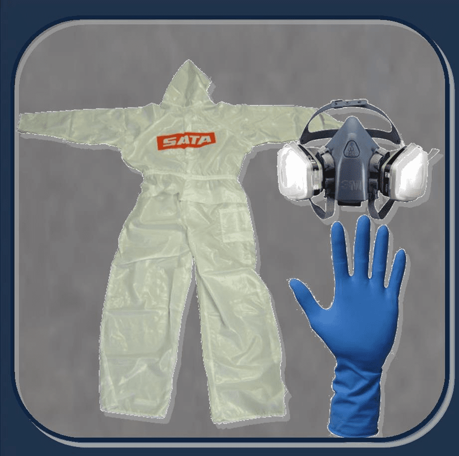 PERSONAL PROTECTION CLOTHING, GLOVES & RESPIRATORS