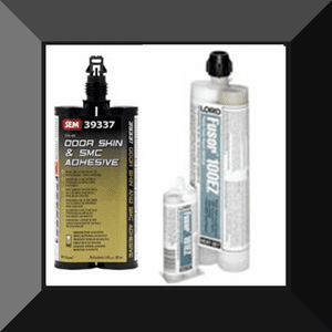 PLASTIC Two Part Bonding Adhesives from Lord Fusor & Sem Products