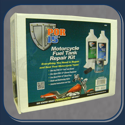 POR-49229 Motorcycle Fuel Tank Sealer Kit