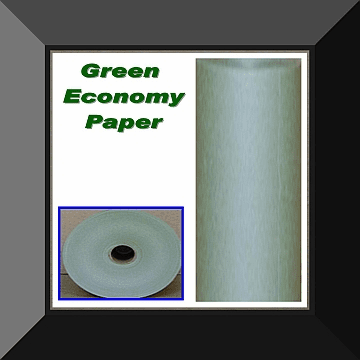 PPC-018 18 IN ECONOMY GREEN MASKING PAPER 2 Rolls Per Log. Sold By Log Only