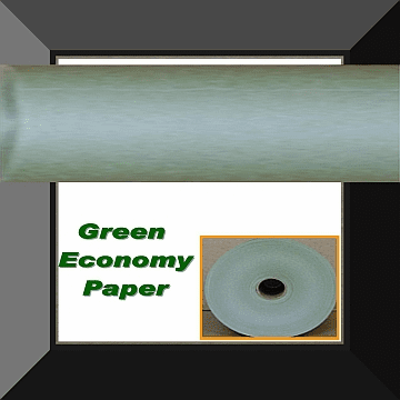 PPC-036 36 IN ECONOMY GREEN MASKING PAPER 1 Roll Per Log