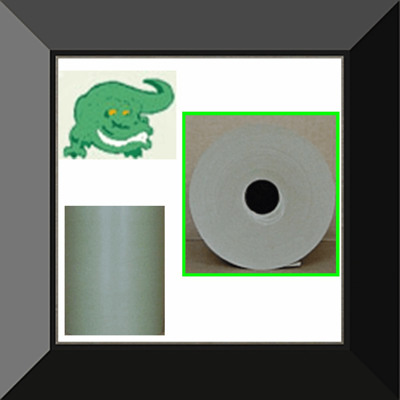 PPC-PG06E Gator Back Green Poly Coated Masking Paper 6in wide X 500ft 6 rolls per log. Sold by the log