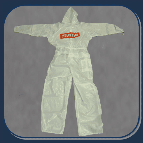 SAT-530054W SATA MEDIUM REUSABLE PAINT SUIT