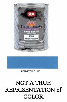 "SEM-02104 SEM COLOR HORIZONS BASE CONCENTRATE ""TRU BLUE"" QUART"