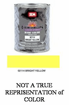 "SEM-02114 SEM COLOR HORIZONS BASE CONCENTRATE ""BRIGHT YELLOW"" QUART"