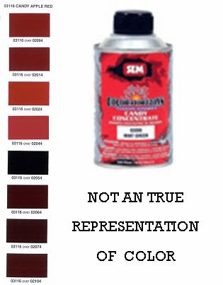"SEM-03116 SEM COLOR HORIZONS CANDY CONCENTRATE ""CANDY APPLE RED"" 1/2 PINT"