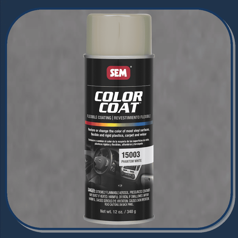 SEM-15003 Phantom White Color Coat 12oz Aerosol