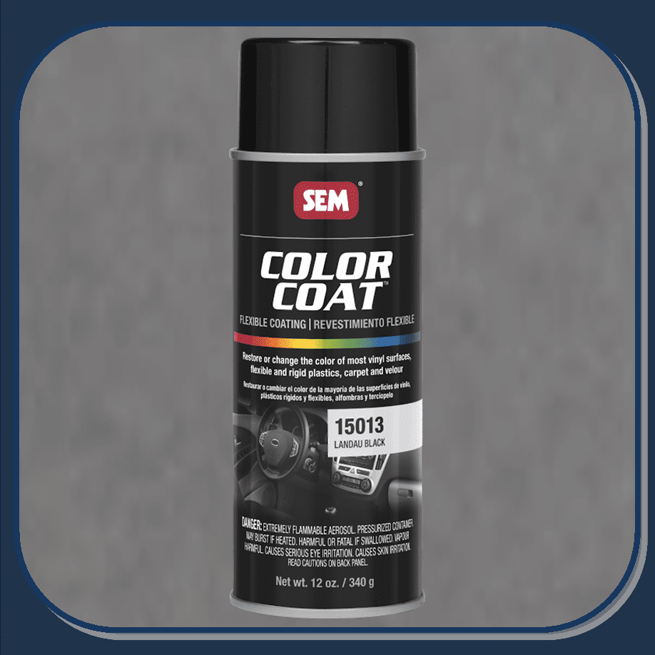 SEM-15013 Landau Black Color Coat 12oz Aerosol
