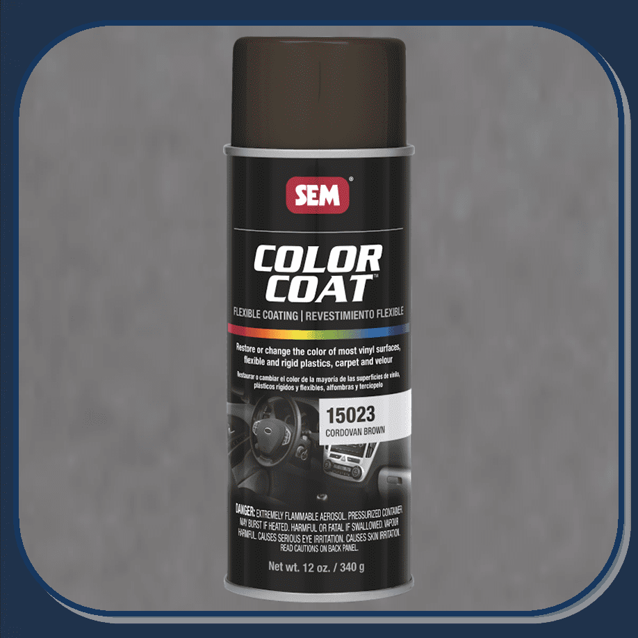 SEM-15023 Cordovan Brown Color Coat 12oz Aerosol