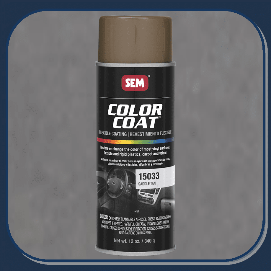 SEM-15033 Saddle Tan Color Coat 12oz Aerosol