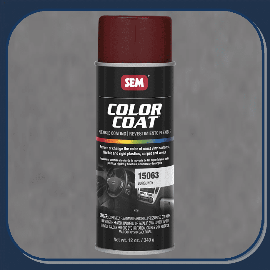 SEM-15063 Burgundy Color Coat 12oz Aerosol
