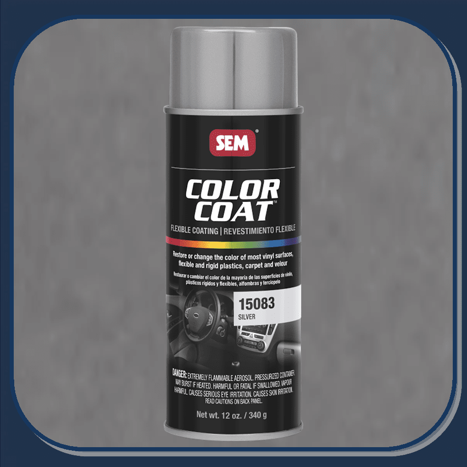 SEM-15083 Silver Color Coat 12oz Aerosol
