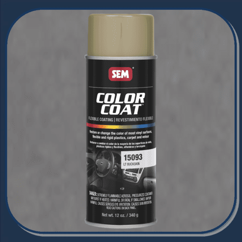 SEM-15093 Light Buckskin Color Coat 12oz Aerosol