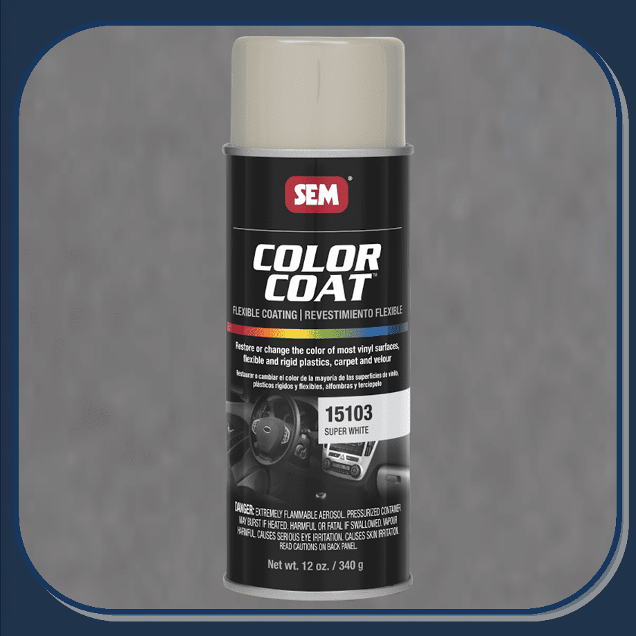 SEM-15103 Super White Color Coat 12oz Aerosol