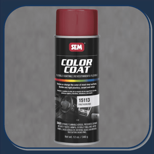SEM-15113 Firethorn Red Color Coat 12oz Aerosol