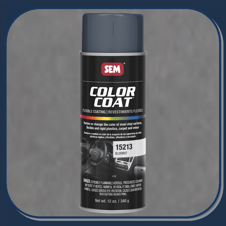 SEM-15213 Bluemist Color Coat 12oz Aerosol