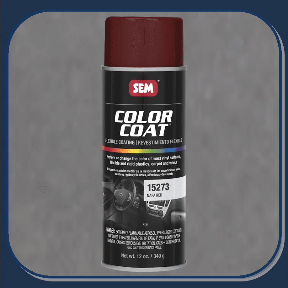 SEM-15273 Napa Red Color Coat 12oz Aerosol