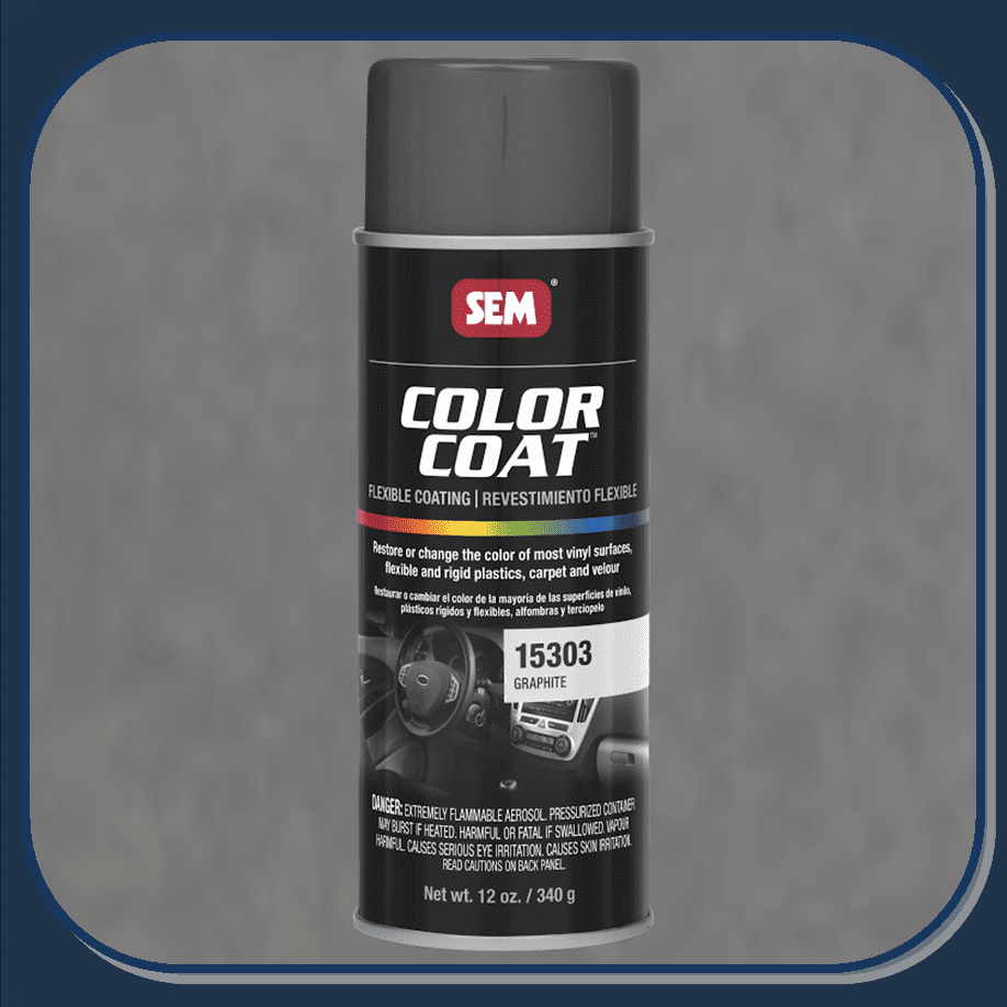 SEM-15303 Graphite Color Coat 12oz Aerosol