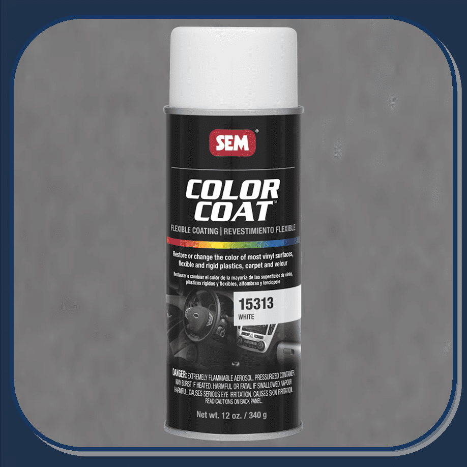 SEM-15313 White Color Coat 12oz Aerosol