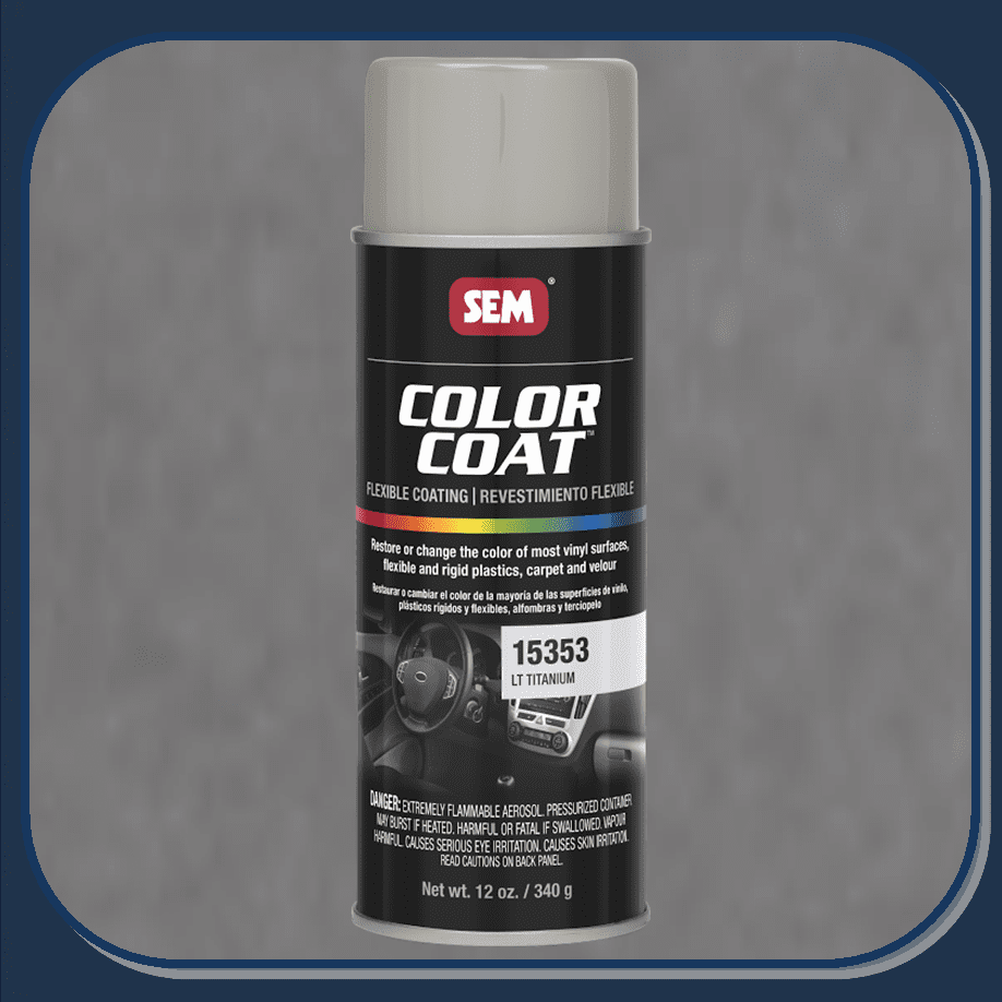 SEM-15353 Light Titanium Color Coat 12oz Aerosol