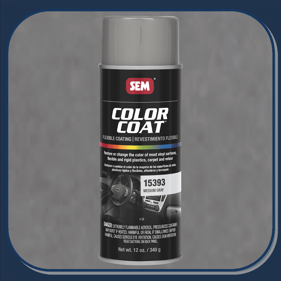 SEM-15393 Medium Gray Color Coat 12oz Aerosol
