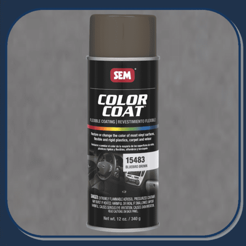 SEM-15483 Bluebird Brown Color Coat 12oz Aerosol