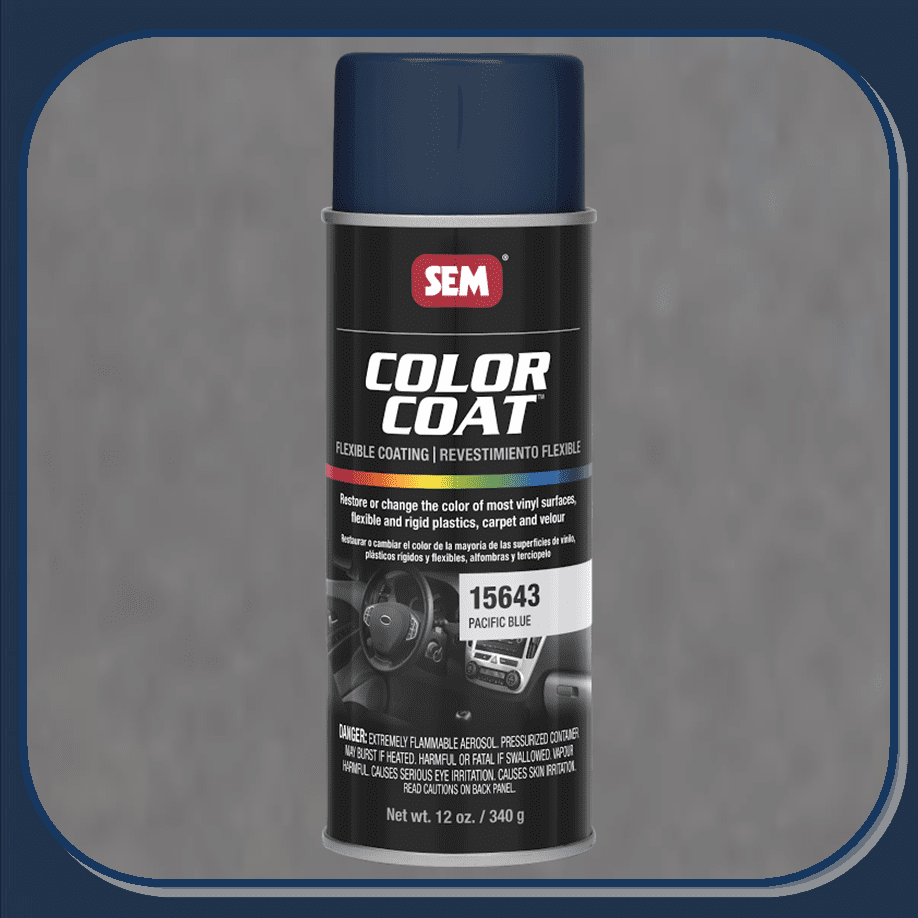 SEM-15643 Pacific Blue Color Coat 12oz Aerosol