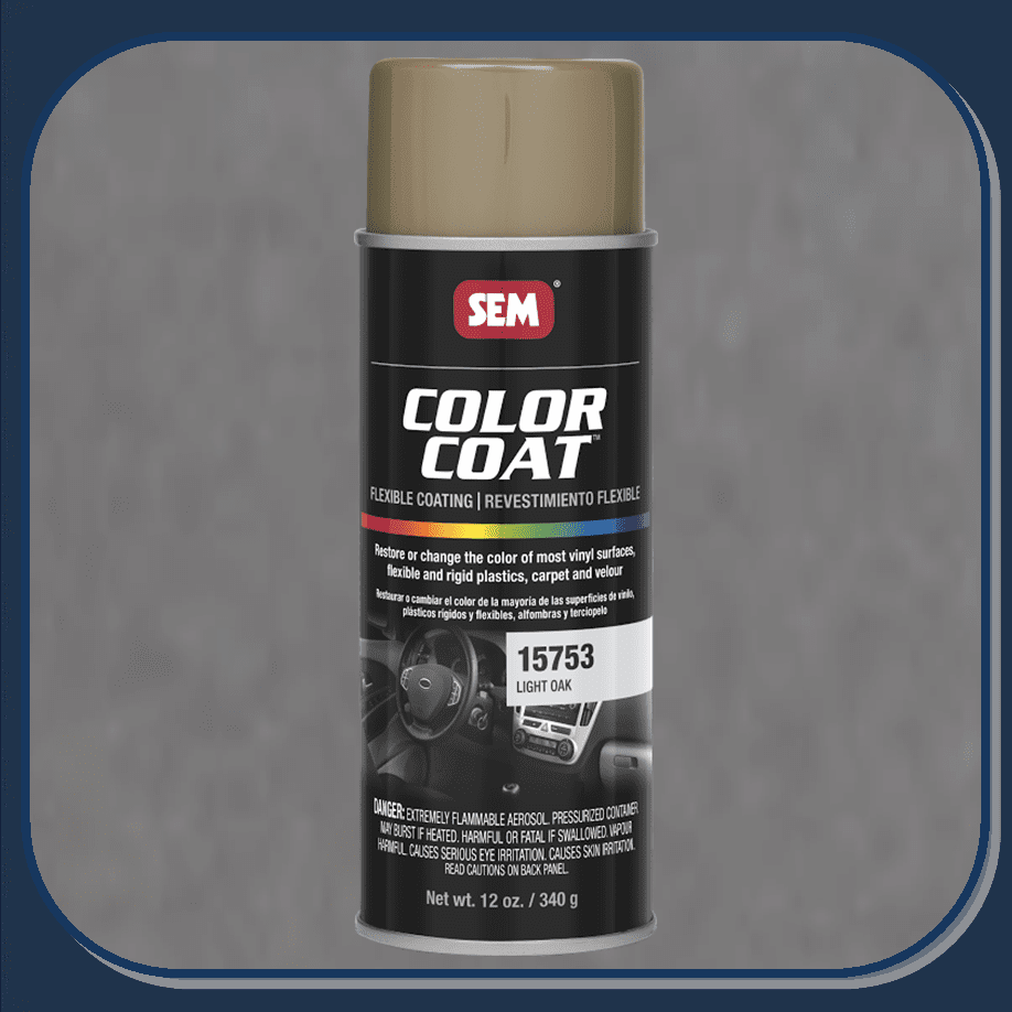SEM-15753 Light Oak Color Coat 12oz Aerosol