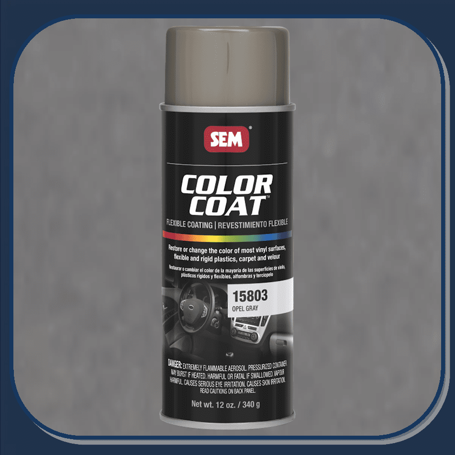 SEM-15803 Opel Gray Color Coat 12oz Aerosol