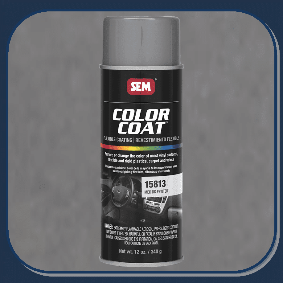 SEM-15813 Medium Dark Pewter Color Coat 12oz Aerosol