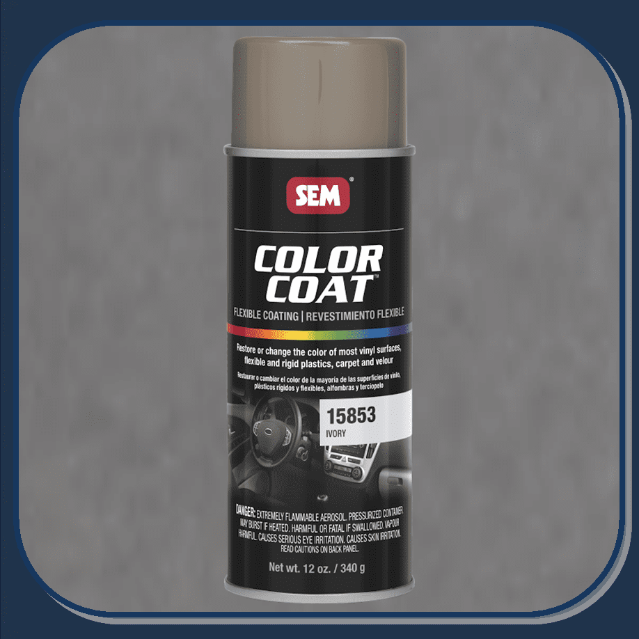 SEM-15853 Ivory Color Coat 12oz Aerosol