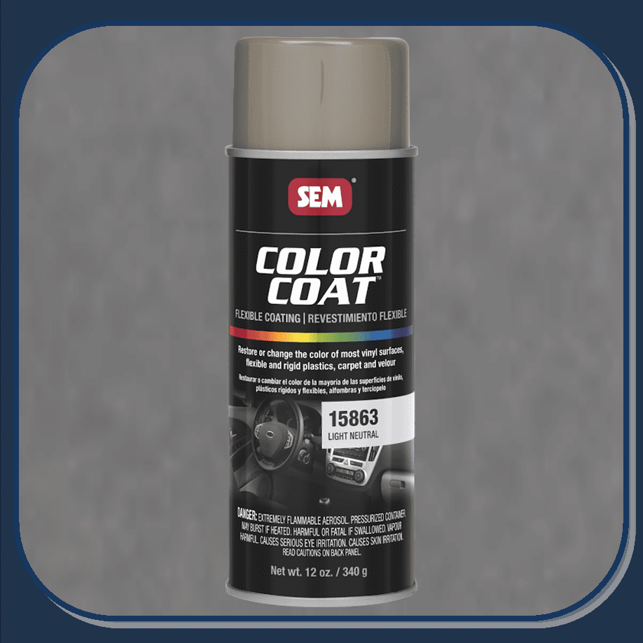SEM-15863 Light Neutral Color Coat 12oz Aerosol