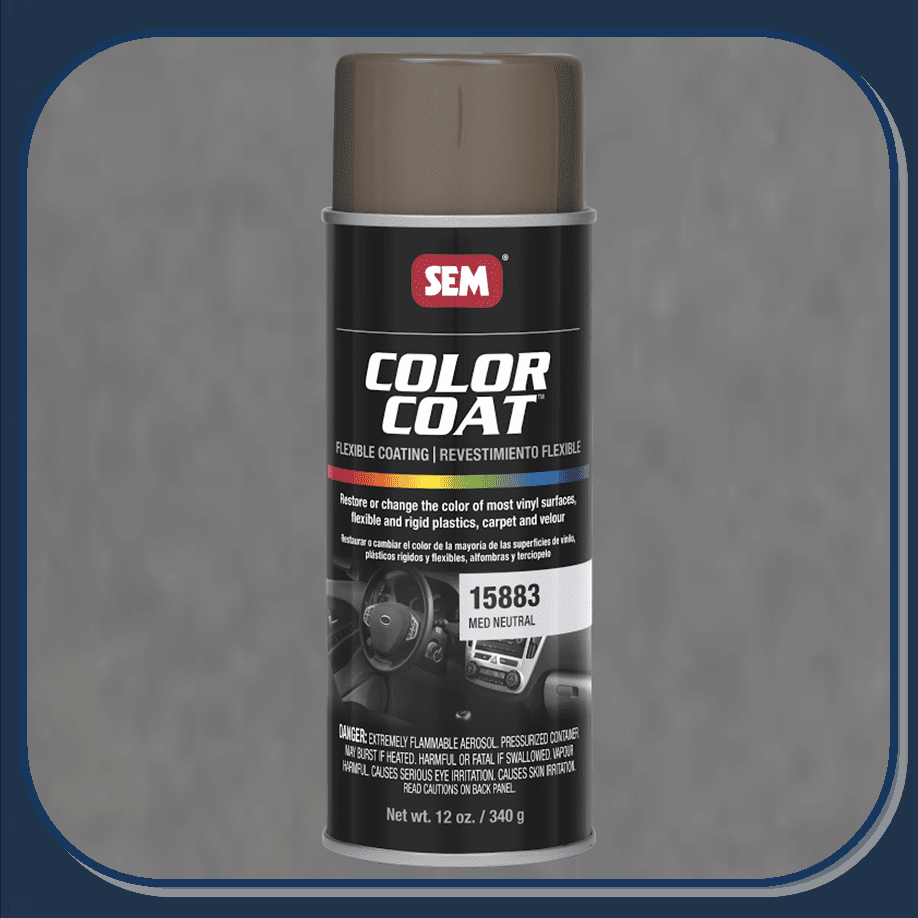 SEM-15883 Medium Neutral Color Coat 12oz Aerosol