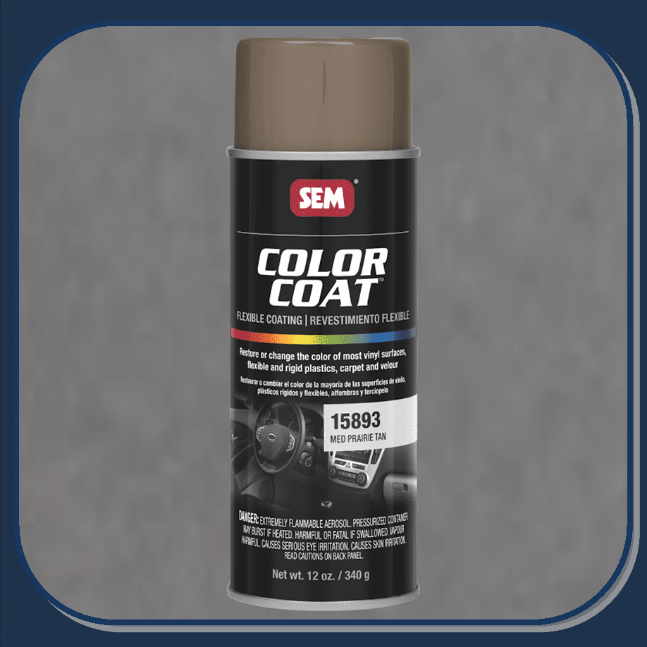 SEM-15893 Medium Prairie Tan Color Coat 12oz Aerosol