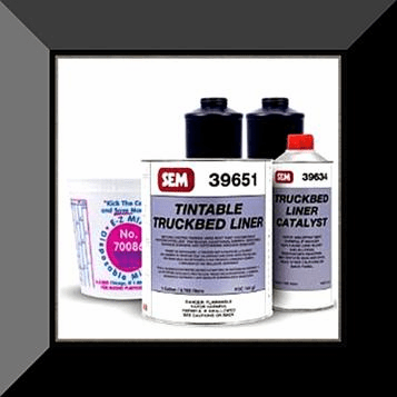 "SEM-39650 SEM PRODUCTS ""TINTABLE"" URETHANE SPRAY IN TRUCKBED LINER GALLON KIT (4:1 mix ratio)"