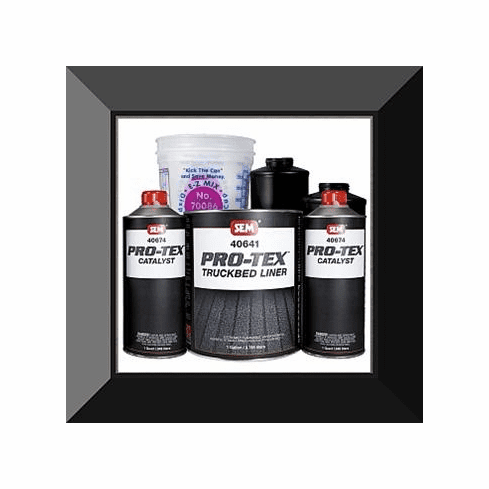 "SEM-40660 SEM PRODUCTS ""TINTABLE"" PROTEX URETHANE SPRAY IN TRUCKBED LINER GALLON KIT (2:1 mix ratio)"