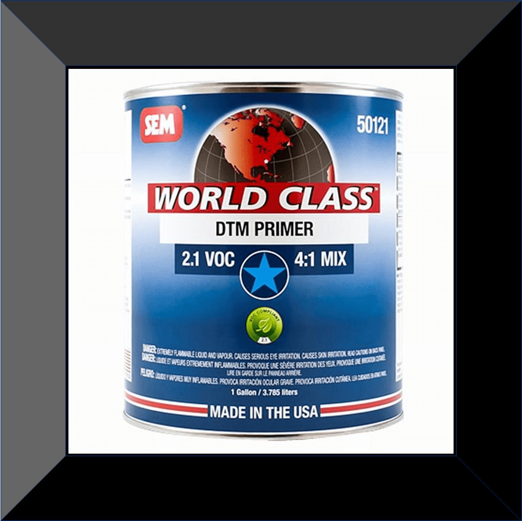 "SEM-50121 World Class DTM Primer Gallon KIT ""Includes Hardner"""
