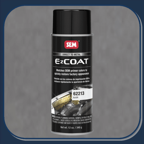 """SEM-62213 SEM PRODUCTS """"BLACK"""" EZ-COAT Direct to Metal Coating Factory Matched to E-Coat and Primers"""