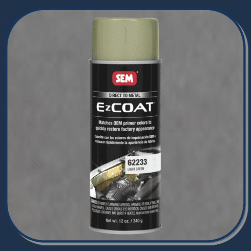 "SEM-62233 SEM PRODUCTS ""LIGHT GREEN"" EZ-COAT Direct to Metal Coating Factory Matched to E-Coat and Primers."
