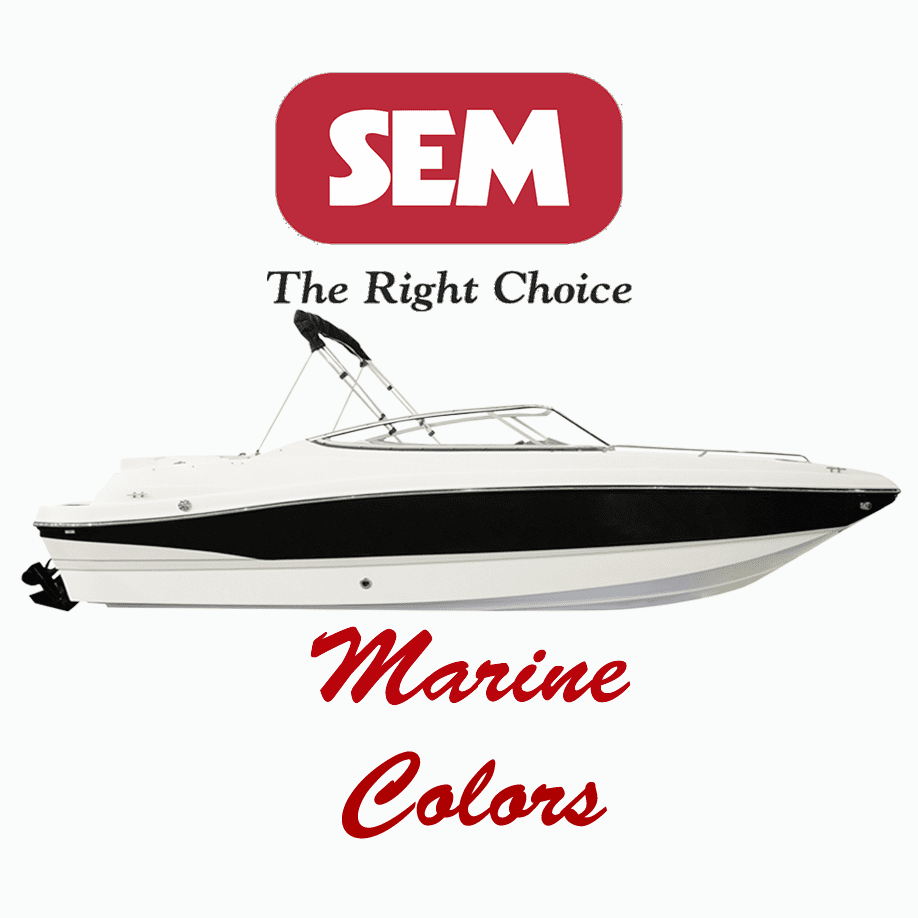 SEM Marine Interior & Engine Colors