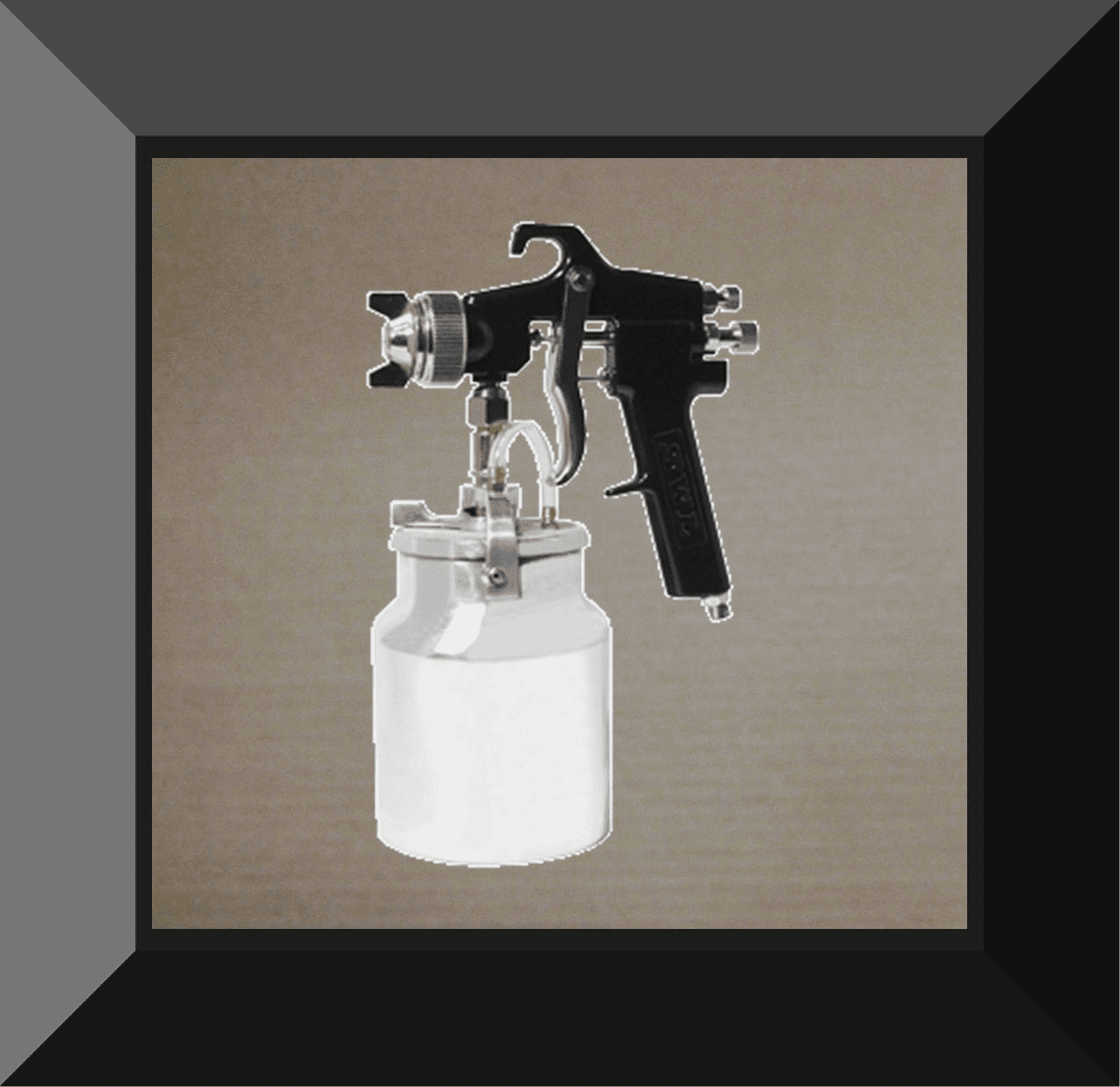 TTC-19418 Vaper Siphon Feed Production Spray Gun 1.8mm Tip & Nozzle