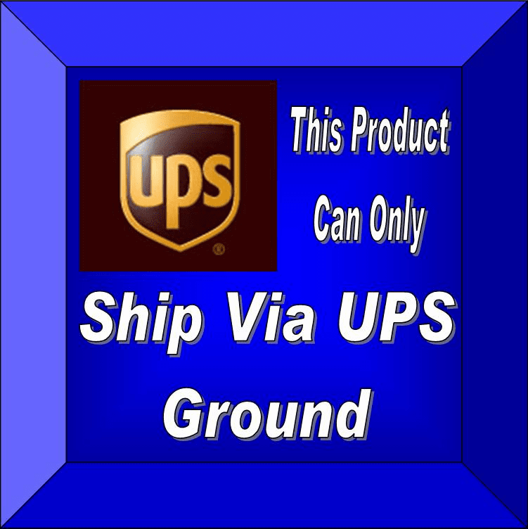 UPS Ground Only