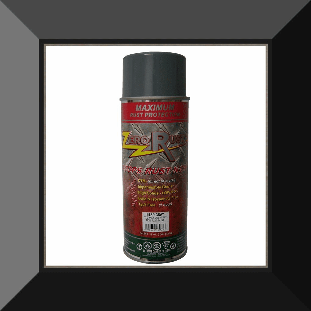 ZRO-61SP Zero Rust Gray Aerosol